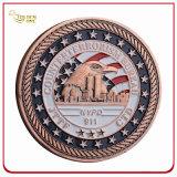 Изготовленный на заказ медь покрыла мягкую монетку возможности сувенира эмали 3D