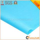 Azul no tejido 100% del documento de embalaje de regalo de la flor del polipropileno No. 24 L.