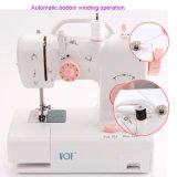 Máquina de coser del mini hogar eléctrico portable del surtidor de la fábrica