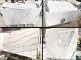 インテリア・デザインまたはホテルのプロジェクトのための競争価格のChivaの白い大理石のタイル