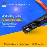 Anwendbare Einlagen Rpmw0802m0 CNC-indexierbare Enden-Prägehilfsmittel Emr-4r-12-130-C12-1t