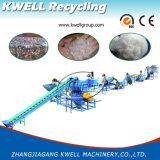 Bottiglie dell'animale domestico/fiocchi di plastica residui dell'animale domestico che riciclano macchinario di lavaggio/che riciclano riga