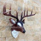 Grande testa dei cervi della resina dei Figurines per la decorazione dell'hotel o della casa