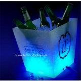 Cubo de hielo de acrílico de encargo del cuadrado de la cerveza