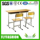 El doble de madera con sillas de escritorio de la Escuela Primaria (SF 34C)