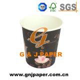 Оптовая торговля печать логотипа вощеная бумага сосуд 2,5 унции