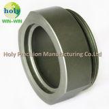 Aluminium-CNC maschinell bearbeitete Teile der Wölbung-Platten-6061-T6 mit Radierungs-Firmenzeichen