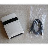leitor do Desktop do USB do ISO 18000-6b/6c RS232 Wiegand26/34UHF da MPE Class1 G2 da escala 860-960MHz longa de 3m