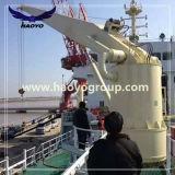 固定ブームの油圧海洋クレーン