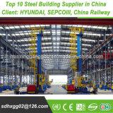 Struttura Pre-Costruita strutturale di montaggio della costruzione di edifici della pagina d'acciaio dell'indicatore luminoso prefabbricato pesante modulare del metallo di Q235B (esportatrice 200, 000MT)