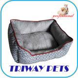 يطبع نوع خيش و [ميني-بلوش] كلب قطع سرير ([و1711060])