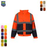 Le pétrole et gaz des vestes réfléchissantes coton Vêtements de travail de l'industrie
