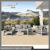 Piscina de lazer praia Sofá Conjunto Alumínio pátio jardim mobiliário de Salão