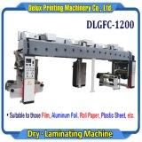 Простая структура - Высокая скорость автоматической машины для ламинирования сухой пленки, алюминиевая фольга, бумаги, пластиковый лист (DLGFC-1200)