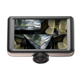 Automobile panoramica DVR della macchina fotografica dei 360 precipitare dello schermo di tocco di 4.5 IPS di pollice