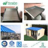 Il tetto d'acciaio isolato riveste i comitati di pannelli ondulati