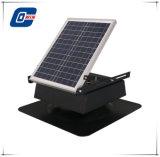 20W9ajustable en la alimentación del panel solar de ventilación de aire del ventilador de escape con batería de almacenamiento