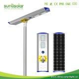 새로운 디자인 가로등 60W LED 태양 가로등