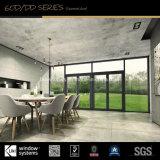Material decorativo vidrio aluminio puertas y ventanas en Europa
