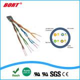 Impermeável ao ar livre do cabo de rede Cat5/Cat5/CAT6 UTP/FTP/STP/SFTP