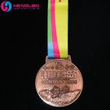 旧式な銅によってめっきされる高品質3Dの記念品メダル