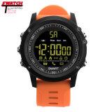 Kundenspezifische Meldung-Anzeige Smartwatch GPS des Firmenzeichen-Ex17 Smartwatch wasserdichte Alarmuhr