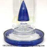 20 Zoll Qualität Lookah Art-Glasgefäß-Recycler-Glaswasser-Pfeife-mit Reifen Perc