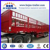 科学的なデザイン40/50トン3の車軸棒または塀のトラクターのトラックの半トレーラー