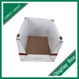 Embalagem de Papelão ondulado de parede dupla caixa de exibição empilhada