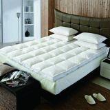 Пуховые кровать матрас, постельные принадлежности Gooose вниз пушистый матрас Украшение для монитора