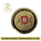 高品質のカスタム旧式なMiliary記念品のトロリー硬貨