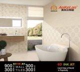 De glanzende of Matte Tegel van de Muur van Inkjet Binnenlandse Ceramische voor Badkamers