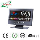 Horloge numérique Multificational Station météorologique pour la maison de chambre à coucher avec rétroéclairage