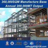 Transport pratique en acier galvanisé pré faite bâtiments en métal