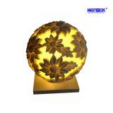 Jardín de piedra de arena de la luz de linterna de la decoración del hogar