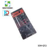 Mono scheda pratica e portatile dell'amplificatore con la radio di FM