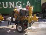 Bomba de Água Acionada por Motor diesel para a irrigação