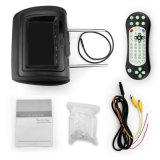 Popular 7''/9'' pulgadas TFT LCD de color negro con cremallera/beige/Gris reposacabezas DVD Player