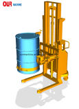 鋼鉄かプラスチックドラム450kgを持ち上げ、重量を量るように設計されているスケールを持つハンドラをドラムをたたきなさい