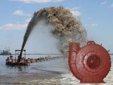Bomba de chorume de cascalho de dragagem de areia