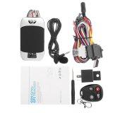 Система отслеживания GPS мотоциклов ТЗ303FG поддержки топливного удаленного монитора остановки двигателя