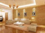Le bois comme composite WPC mur acoustique en plastique matériau de panneau