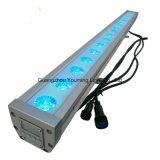 indicatore luminoso della rondella della parete di 3W RGB 24PCS LED con il regolatore del punto