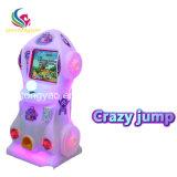 Machines van het Videospelletje van de Arcade van de Jonge geitjes van de Sprong van Guangzhou de Gekke Muntstuk In werking gestelde
