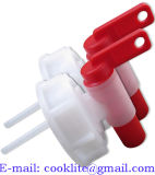 PE van de Ontluchter van Aeroflow Plastic Spon 61mm Zelf het Luchten het Uitdelen Kraan/Tapkraan