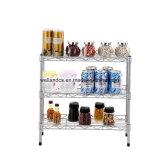 Organizador de acessórios de cozinha doméstica multiuso Spice Rack Latas Jar prateleira na tabela