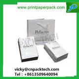 돋을새김된 형식 선전용 서류상 1회분의 커피 봉지 인쇄된 쇼핑 백 골프 백 포도주 포장 부대