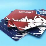 SCHEDA astuta del regalo stampata nuova abitudine della gestione RFID di affari del mestiere di HUAYUAN per la promozione