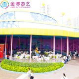 Carnaval de patio al aire libre el equipo de entretenimiento moderno Café, té, paseos en la copa para el Parque de Atracciones
