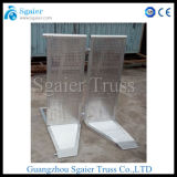 Этап Barrier с Trolly Barrier Aluminum Road Barricade Road Safety Barrier